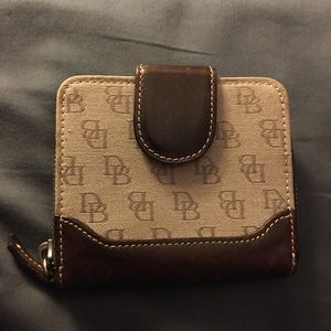 Dooney and Bourke Ladies wallet with DB logo
